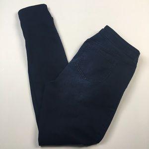 Torrid Skinny Dark Wash Mid Rise Jeans Sz 12T
